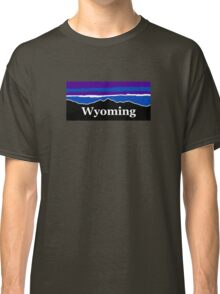 Wyoming Midnight Mountains Classic T-Shirt