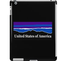 United States of America Midnight Mountains iPad Case/Skin