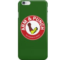Arm & Punch One Punch Man iPhone Case/Skin