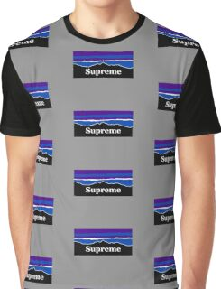 Supreme Midnight Mountains Graphic T-Shirt