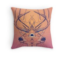 Dutch Deer Throw Pillow