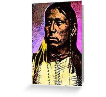 Satanta Kiowa War Chief Greeting Card