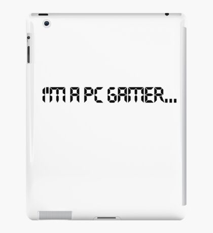 pc gamer iPad Case/Skin