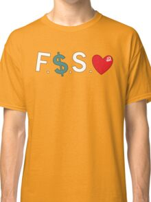 Official Fuck Money Spread Love - J.cole Classic T-Shirt