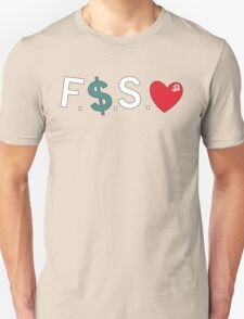 Official Fuck Money Spread Love - J.cole Unisex T-Shirt