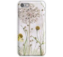 Alliums and Heleniums iPhone Case/Skin