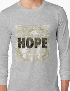 """""""Hope"""" by Manchester Orchestra Long Sleeve T-Shirt"""