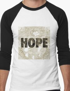 """Hope"" by Manchester Orchestra Men's Baseball ¾ T-Shirt"