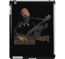 guitar player, bass player iPad Case/Skin