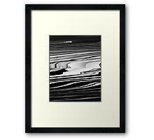 Vincent Price Glitch Framed Print