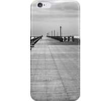 Coney island wharf iPhone Case/Skin