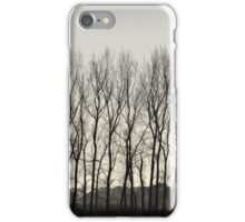 Grey Fringe iPhone Case/Skin