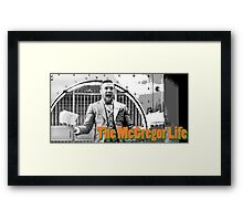 The Conor McGregor Life UFC MMA Framed Print