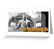 The Conor McGregor Life UFC MMA Greeting Card
