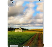 Dirt Road to Old Homestead iPad Case/Skin