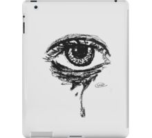 Black and White Eye  iPad Case/Skin