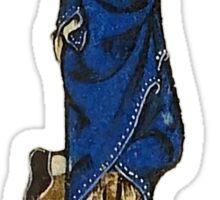 Wag grimace (medieval) Sticker