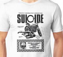 Suicide stuntman bike vintage poster Unisex T-Shirt