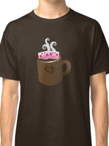 Cute Hot Chocolate with marshmallows Classic T-Shirt