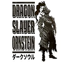 Dragon Slayer Ornstein Photographic Print