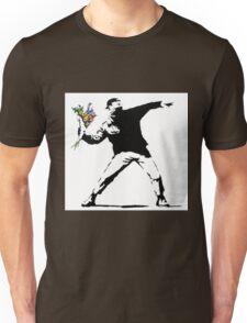 Flower Thrower - Banksy Unisex T-Shirt