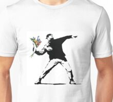 Flower Thrower - Banksy Unisex T-Shirt