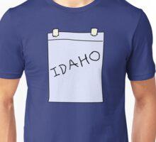Idaho costume Unisex T-Shirt