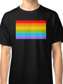 LGBT Rainbow Flag Classic T-Shirt