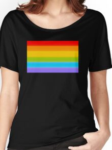 LGBT Rainbow Flag Women's Relaxed Fit T-Shirt