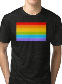 LGBT Rainbow Flag Tri-blend T-Shirt