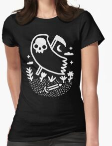 Another Grim Night Womens Fitted T-Shirt