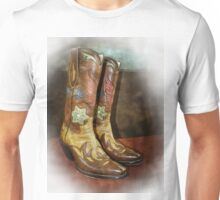 Take A Walk in My Boots Unisex T-Shirt