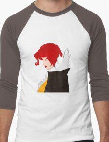 Red from Transistor Men's Baseball ¾ T-Shirt