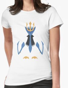 Slightly Inverted Minimalistic Empoleon  Womens Fitted T-Shirt