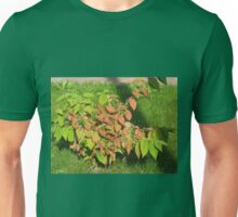 Autumn Leaves of Russet and Green Unisex T-Shirt