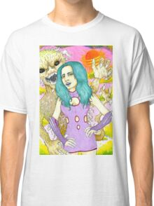 Space Girl and the planet of the dune devils Classic T-Shirt
