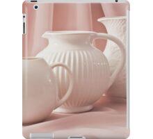 Three White Pitchers iPad Case/Skin