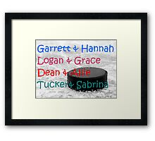 Off Campus Series Couples Framed Print