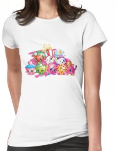 Shopkin Squad Womens Fitted T-Shirt