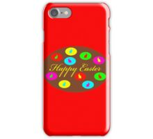 chocolate easter egg iPhone Case/Skin