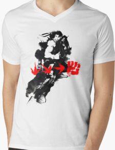 Senpai Mens V-Neck T-Shirt