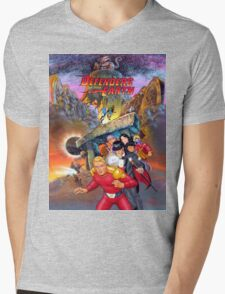 Defenders of the Earth Mens V-Neck T-Shirt