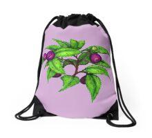 Huckleberries Drawstring Bag