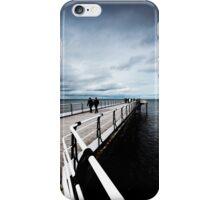 Saltburn Pier, North Yorkshire iPhone Case/Skin