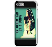 Dragster - My other car is a prius iPhone Case/Skin