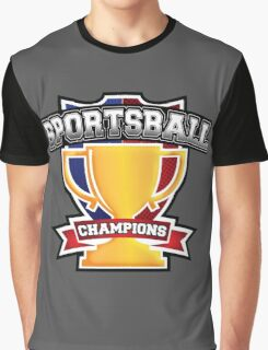 Sportsball Champions Graphic T-Shirt