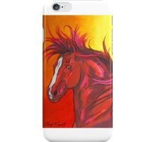 Fire In His Eyes iPhone Case/Skin