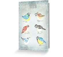 TITS Greeting Card