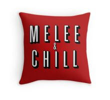 Melee & Chill Throw Pillow