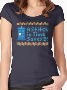 A Stitch in Time Women's Fitted Scoop T-Shirt